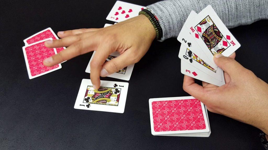 como jugar casino con cartas